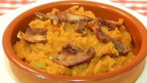 Gastronomía patatas pelonas tietar gredos