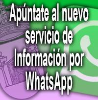 Servicio de Información de WhatsApp del Ayuntamiento de Casavieja