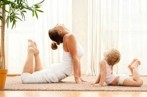Yoga con bebés - Espacio Crianza @ Planta alta Casa del Secretario