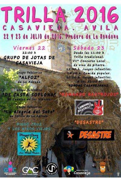 TRADICIONAL FIESTA DE LA TRILLA - VERANO CULTURAL 2016
