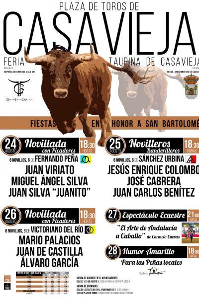 PRESENTADA LA FERIA DE NOVILLADAS EN CASAVIEJA.