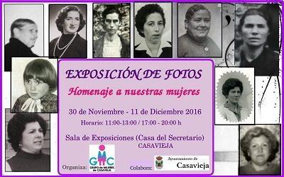EXPOSICIÓN DE FOTOS - HOMENAJE A NUESTRAS MUJERES.