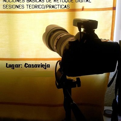 "TALLER DE FOTOGRAFÍA ""APRENDE A MANEJAR TU CÁMARA""."