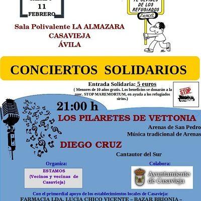 CONCIERTOS SOLIDARIOS EN LA ALMAZARA.