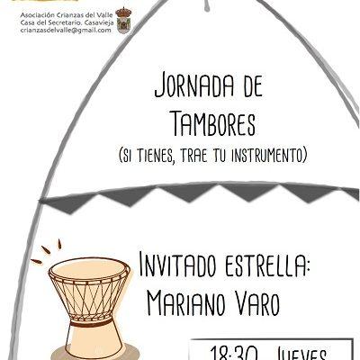 ESPACIO CRIANZAS - JORNADA DE TAMBORES.