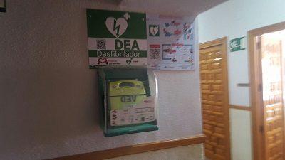 CASAVIEJA CUENTA CON DOS DESFIBRILADORES SEMI-AUTOMÁTICOS.