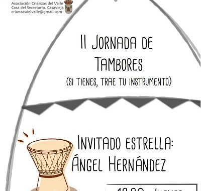 ESPACIO CRIANZAS - II JORNADA DE TAMBORES.