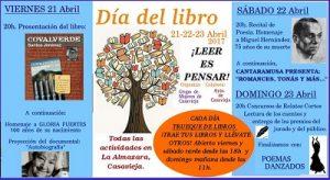 """Día del Libro @ Centro Polivalente """"La Almazara""""."""