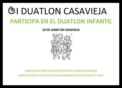DUATLÓN INFANTIL.