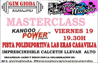 MASTERCLASS DE KANGOO POWER.
