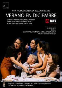 """Teatro """"VERANO EN DICIEMBRE"""" @ Centro Polivalente """"La Almazara""""."""
