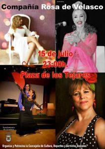 Compañía Rosa de Velasco @ Plaza de los Tejares