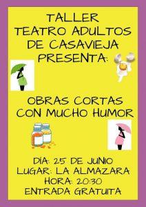 "Taller de Teatro @ Centro Polivalente ""La Almazara""."