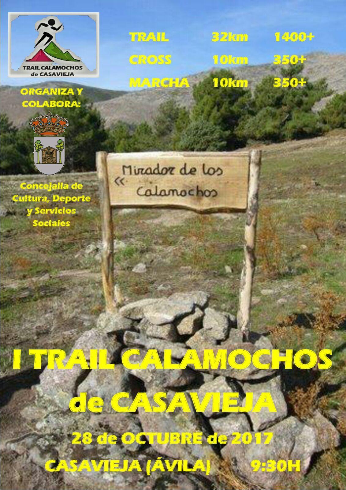 "I Carrera de Trail ""Los Calamochos"" de Casavieja."