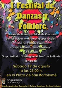 I Festival de Danzas y Folklore de Casavieja @ Plaza de San Bartolomé