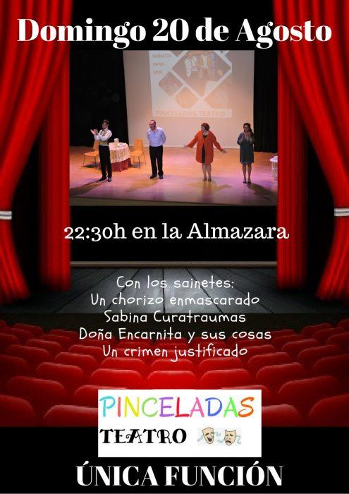 "Piceladas Teatro @ Centro Polivalente ""La Almazara""."