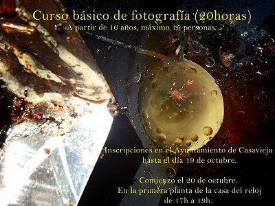BANDO - CURSO BÁSICO DE FOTOGRAFÍA