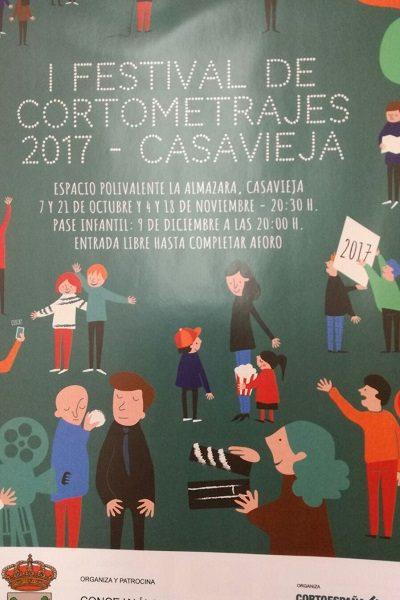 I FESTIVAL DE CORTOMETRAJES 2017 DE CASAVIEJA.