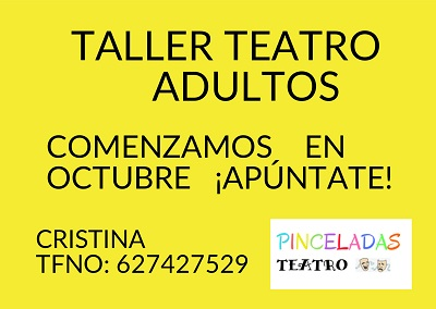 TALLER TEATRO ADULTOS
