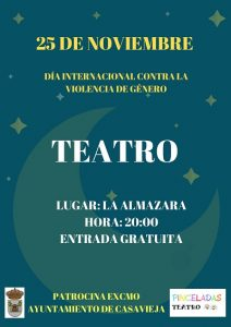 """Teatro en La Almazara @ Centro Polivalente """"La Almazara""""."""