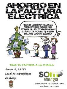 """Charla sobre ahorro en la factura eléctrica. @ Sala de Exposiciones """"Casa del Secretario"""""""