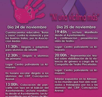 25N, DÍA INTERNACIONAL CONTRA LA VIOLENCIA DE GÉNERO