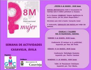 """8M, Día Internacional de la Mujer @ Centro Polivalente """"La Almazara""""."""
