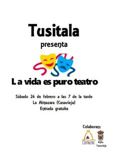 "Tusitala. @ Centro Polivalente ""La Almazara""."