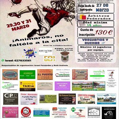I MARATÓN FÚTBOL SALA CASAVIEJA 2018