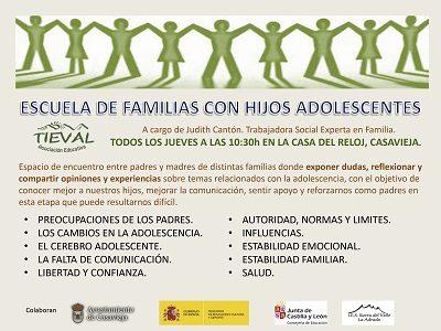 ESCUELA DE FAMILIAS CON HIJOS ADOLESCENTES