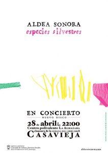 """Aldea Sonora en concierto @ Centro Polivalente """"La Almazara""""."""