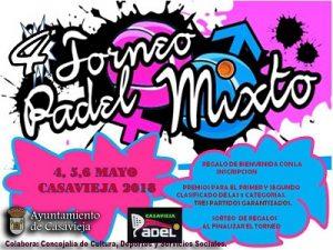 """IV Torneo de Pádel Mixto @ Pista de Pádel """"Las Eras"""""""