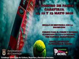 """XI Torneo de Pádel de Casavieja 2018 @ Pista de Pádel """"Las Eras"""""""