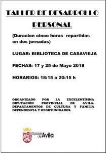 """Taller de Desarrollo Personal @ Biblioteca Municipal Sagrario Fuentes Pulido """"Tito"""""""