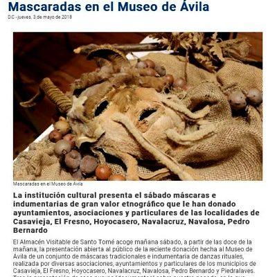 MASCARADAS EN EL MUSEO DE ÁVILA.