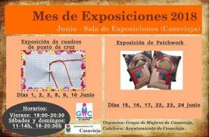 """Exposición de cuadros de punto de cruz @ Sala de Exposiciones """"Casa del Secretario"""""""