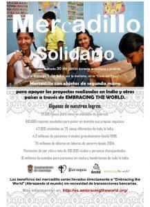 """Mercadillo Solidario @ """"Casa del Reloj"""", planta baja"""