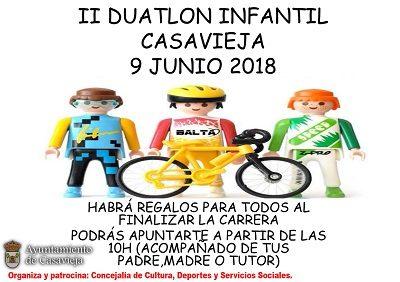 II DUATLON INFANTIL CASAVIEJA