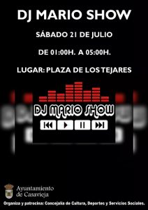 Discoteca Móvil con DJ Mario Show @ Plaza de los Tejares