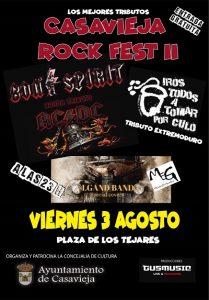 Casavieja Rock Fest II @ Plaza de los Tejares