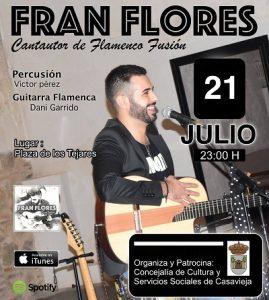 """Actuación Musical """"Fran Flores"""" @ Plaza de los Tejares"""
