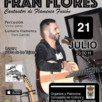 ACTUACIÓN MUSICAL DE FRAN FLORES: VERANO CULTURAL