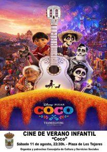 """Cine de Verano Infantil """"Coco"""" @ Plaza de los Tejares"""