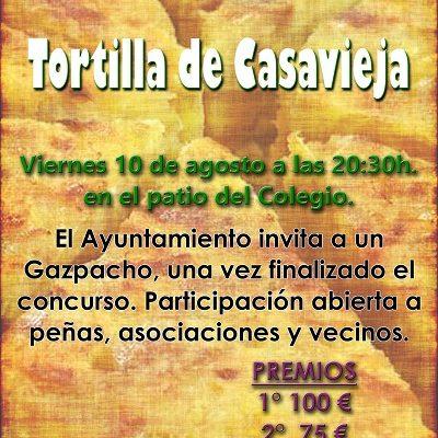 IV CONCURSO DE TORTILLA DE PATATA: VERANO CULTURAL