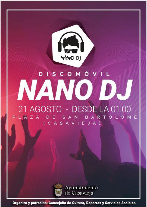 """Disco Móvil """"Nano DJ Eventos"""" @ Plaza de San Bartolomé"""