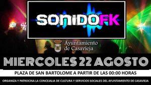 DJ Sonido FK @ Plaza de San Bartolomé