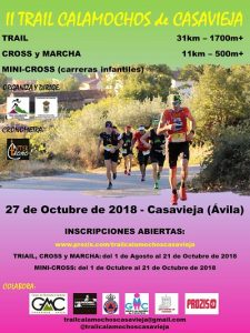 II Trail Calamochos de Casavieja @ Casavieja