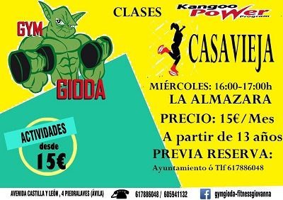 CLASES DE KANGOO POWER-KANGOO DANCE