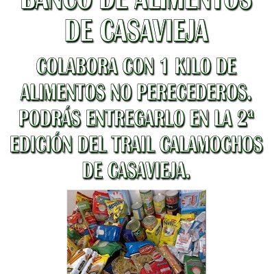 COLABORA CON EL BANCO DE ALIMENTOS DE CASAVIEJA