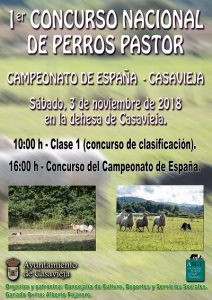 1º Concurso Nacional de Perros Pastor @ Dehesa de Casavieja
